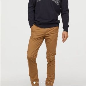 NEW! H&M Slim Fit Twill Pants